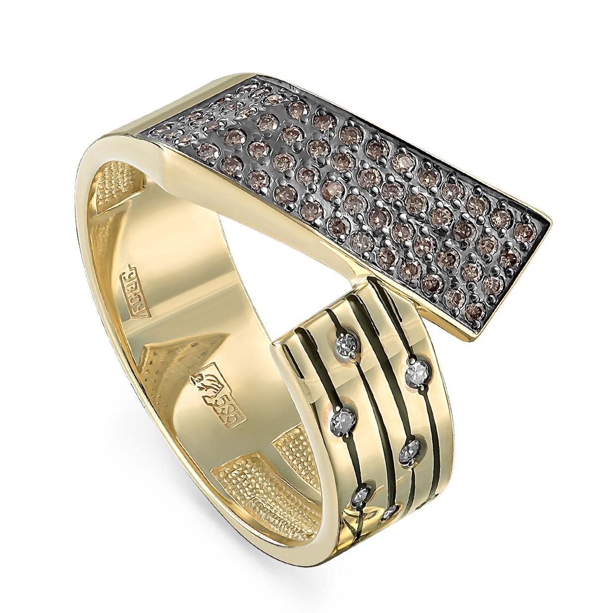 Кольцо из желтого золота