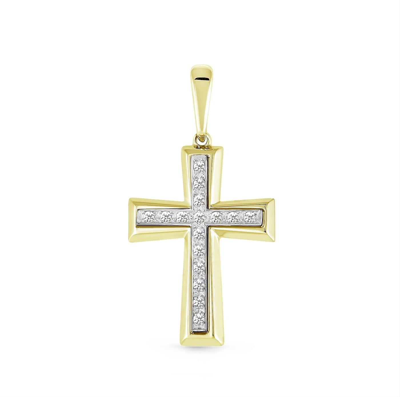 Крест из серебра